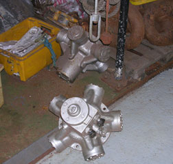 Staffa Hydraulic Motors (two available)