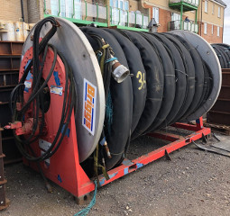 Rope/Hose/ Boom Drums Hydraulically Powered (two identical)