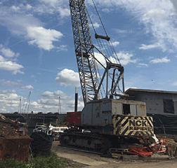NCK Rapier 1405B 85Ton Crawler Crane 100Ft Jib and Fly Jib